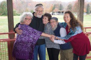 Sage-ing Faculty - Bahira Sugarman, Shaya Isenberg, Nadya and Victor Gross, and Lynn Iser