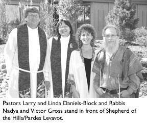 Jewish, Lutheran congregations join spiritual forces - article from Boulder Weekly