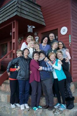 Wisdom school participants/grandchildren