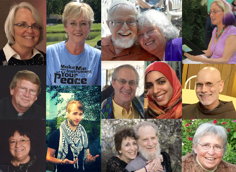 Montage photo of all people involved in the deep ecumenism program