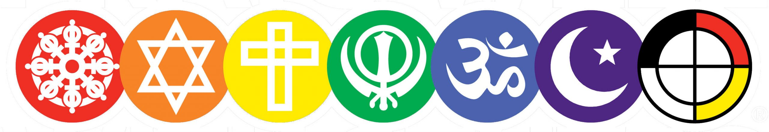 Logos of many faiths