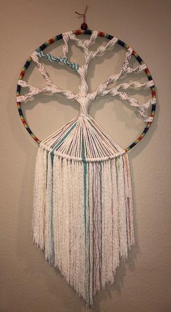 macrame - Tree of Life by Adrianne Pasternak